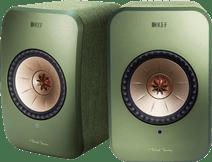 KEF LSX wireless stereo system Green