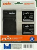 Jupio Kit: 2x Batterie DMW-BLG10E + Chargeur USB unique