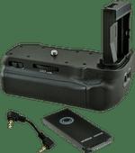 Jupio Poignée d'alimentation pour Canon EOS 77D, 800D et 9000D + Câble