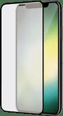 Azuri Curved Gehard Glas Apple iPhone Xr Screenprotector Glas Duo Pack Zwart