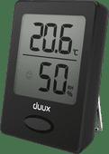 Duux Sense Hygromètre et Thermomètre Noir