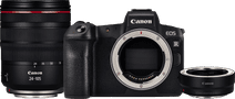 Canon EOS R + Adaptateur EF-EOS R + RF 24-105 mm f/4L IS USM