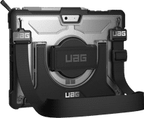 UAG Plasma Microsoft Surface Go Book Case Blanc