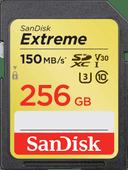 SanDisk SDXC Extreme 256 GB 150MB / s
