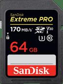 SanDisk SDXC Extreme Pro 64GB 170MB/s