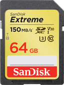 SanDisk SDXC Extreme 64GB 150MB/s