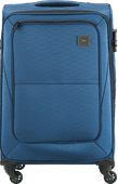 Princess Traveller Colombo Valise à 4 roulettes extensible 65 cm Bleu