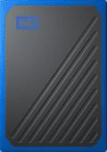 WD My Passport Go 500GB Zwart / Blauw
