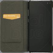 Azuri Booklet Ultra Thin Samsung Galaxy S10 Plus Book Case Black
