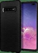 Spigen Liquid Air Samsung Galaxy S10 Plus Back Cover Black
