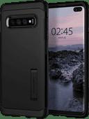 Spigen Tough Armor Samsung Galaxy S10 Plus Back Cover Zwart