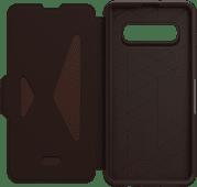 OtterBox Strada Samsung Galaxy S10 Plus Book Case Brown