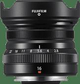 Fujifilm XF16mm f/2.8 R WR Noir