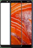Azuri Protège-écran Verre trempé Nokia 3.1 Plus Noir