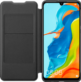 Huawei P30 Lite Flip Cover Book Case Black