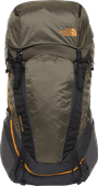The North Face Terra 65L TNF Dark Grey Heather/New Taupe - Slim Fit
