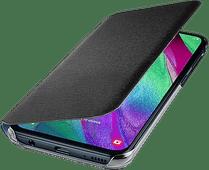 Samsung Galaxy A40 Wallet Book case Noir