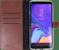 Valenta Booklet Gel Skin Samsung Galaxy A9 (2018) Book Case Brown