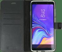 Valenta Booklet Gel Skin Samsung Galaxy A9 (2018) Book Case Black