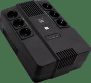 Ewent Line Interactive UPS 600 VA With 6 Sockets