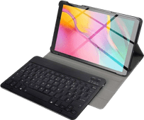 Just in Case Premium Étui Clavier Bluetooth Samsung Galaxy Tab A 10.1 (2019) AZERTY (franç