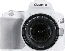 Canon EOS 250D White + 18-55mm f / 4-5.6 IS STM