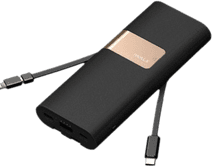 iWalk Secretary + Powerbank 20,000 mAh Quick Charge 3.0 Black