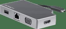 Startech Usb-C to HDMI, VGA and Usb-A Converter 95W PD