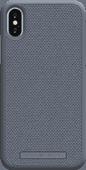 Nordic Elements Idun Apple iPhone X/Xs Back Cover Lichtgrijs