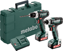 Metabo PowerMaxx BS 12 + PowerMaxx SSD 12 Combiset