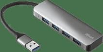 Trust Halyx Aluminium 4 Port USB 3.2 Hub