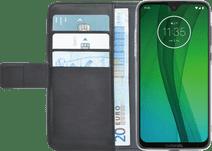 Azuri Wallet Book Cover Magnétique Motorola Moto G7 Noir