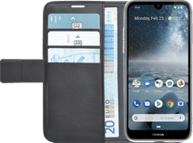 Azuri Wallet Magnet Nokia 4.2 Book Cover Black