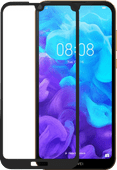 Azuri Rinox Huawei Y5 (2019) Screenprotector Gehard Glas Zwart