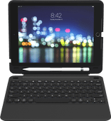 ZAGG Slim Book Go Apple iPad 9,7 inch (2017/2018) Toetsenbord Hoes AZERTY Zwart