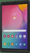 Just In Case Heavy Duty Samsung Galaxy Tab A 10.1 (2019) Full Body Case Black