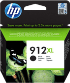 HP 912XL Cartridge Zwart