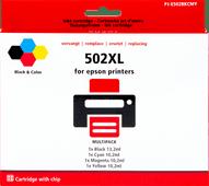 Pixeljet 502XL Cartouches Pack Combiné