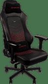 Noblechairs HERO Gaming Stoel  Echt Lederen - black / red