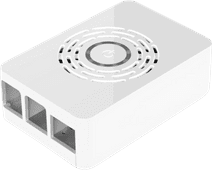 Multicomp Pro Raspberry Pi 4 behuizing - Power knop - Wit