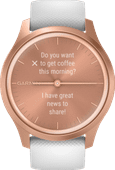 Garmin Vivomove Style - Rose Gold/White - 42mm
