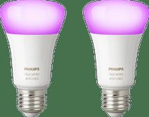 Philips Hue White and Color E27 Bluetooth Lot de 2