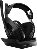 Astro A50 Draadloze Gaming Headset + Base Station voor PS5, PS4 - Zwart