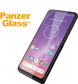 PanzerGlass Case Friendly Motorola One Vision Screenprotector Glas