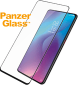 PanzerGlass Case Friendly Xiaomi Mi 9T Screenprotector Glas Zwart