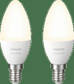 Philips Hue Ampoule bougie White E14 Bluetooth Lot de 2