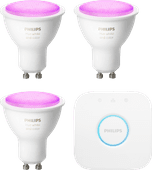 Philips Hue White & Colour GU10 Kit de démarrage
