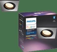 Philips Hue Centura inbouwspot White & Colour vierkant aluminium