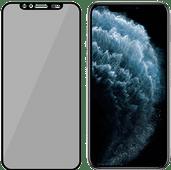 PanzerGlass Privacy Camslider iPhone X/Xs/11 Pro Protège-écran Verre Noir