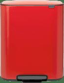 Brabantia Bo Pedal Bin 60 Litres Passion Red